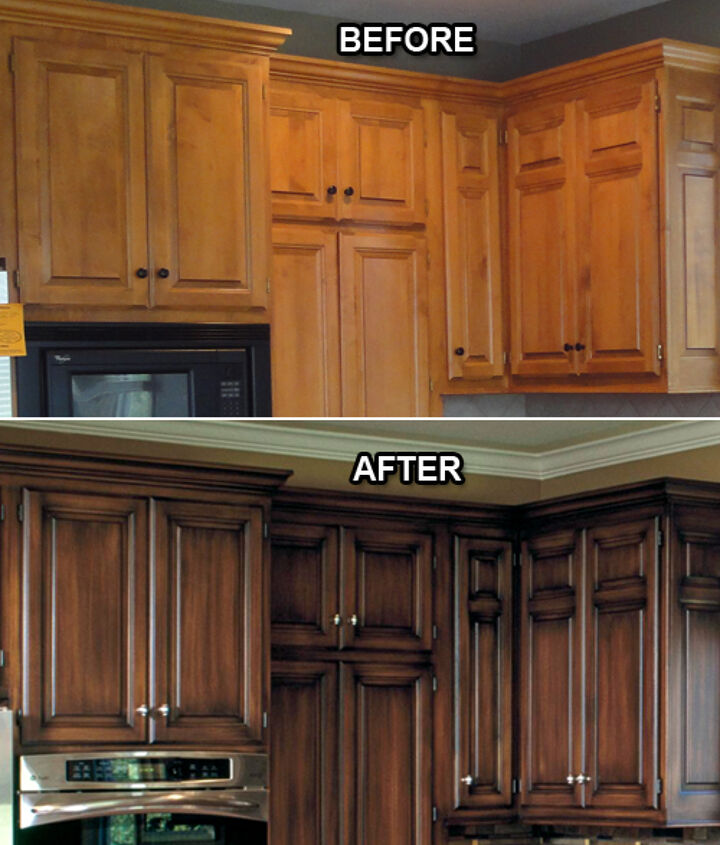 q glaze on kitchen cabinets, kitchen cabinets