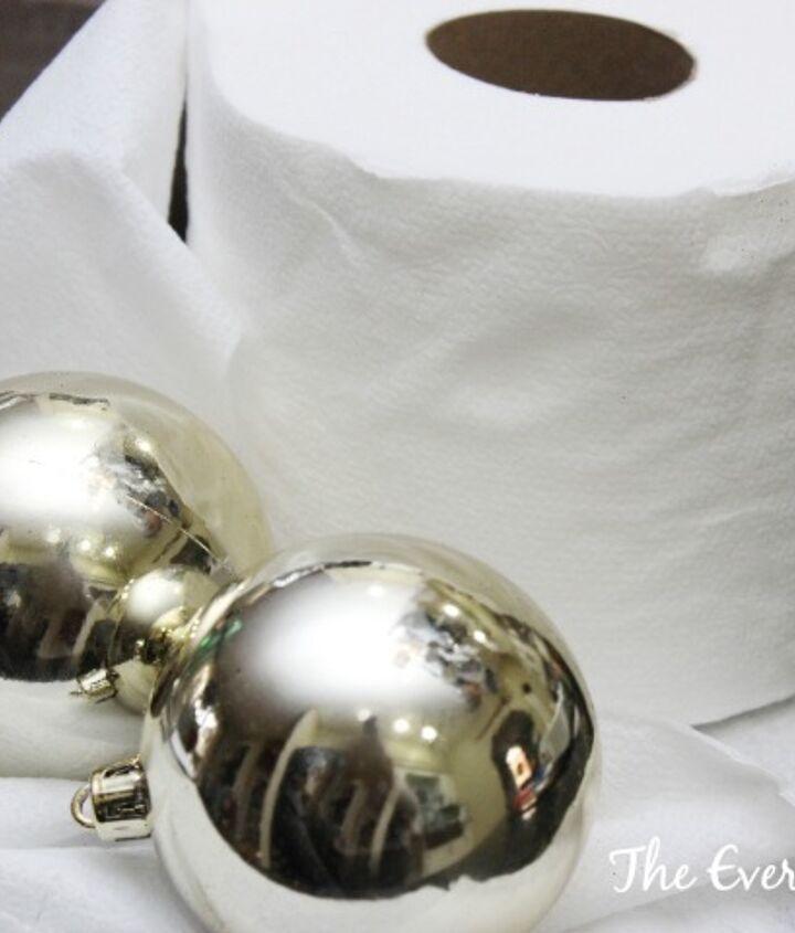 how to make snowball christmas ornaments, christmas decorations, crafts, seasonal holiday decor