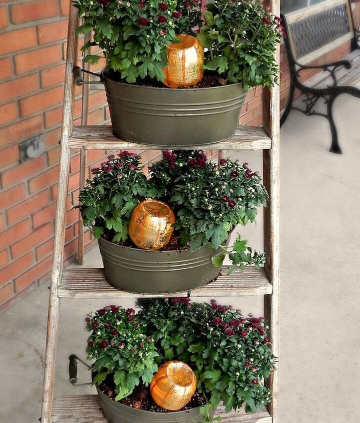 Each container get its own pumpkin watering bottle to keep it hydrated and happy!