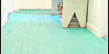 diy wood floor made from lathe, diy, flooring, how to, woodworking projects