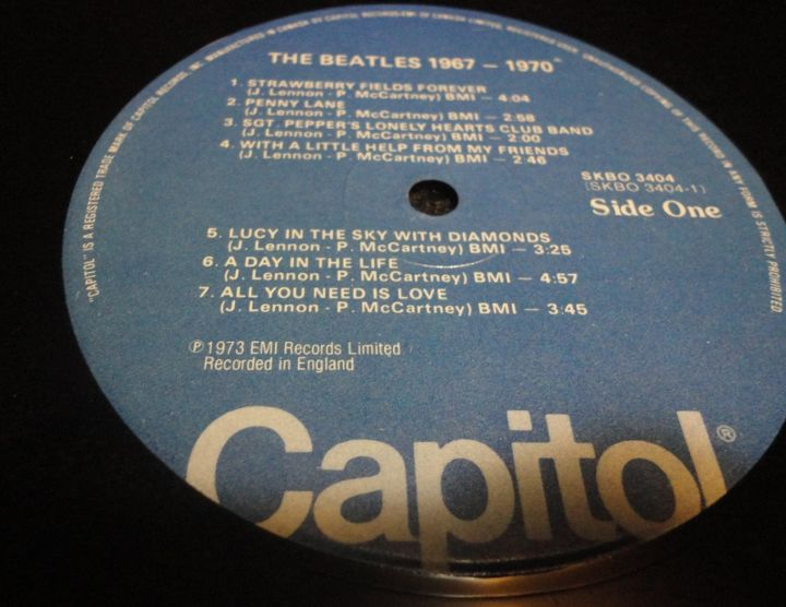 The record I used to make the table.