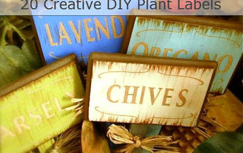 20 diy creative plant labels, crafts, gardening