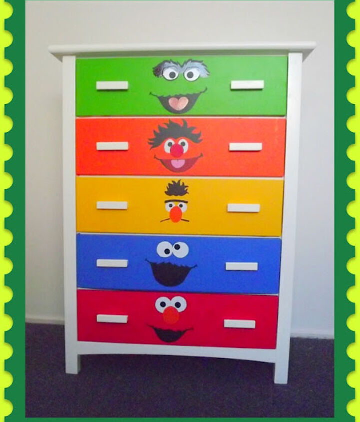 Sesame Street Dresser