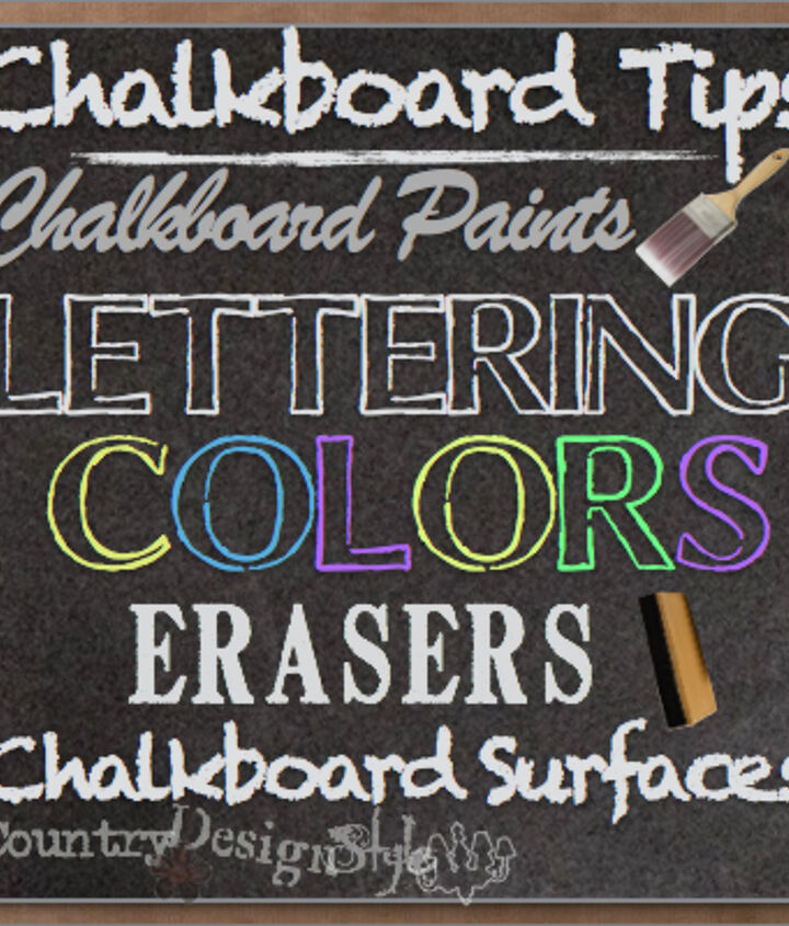 chalkboard tips from painting to lettering to erasing, chalkboard paint, crafts, painting