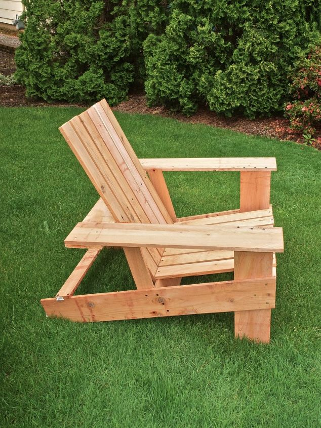 Preferred Easy, economical DIY Adirondack chairs: $10, 8 steps, 2 hours  XZ79
