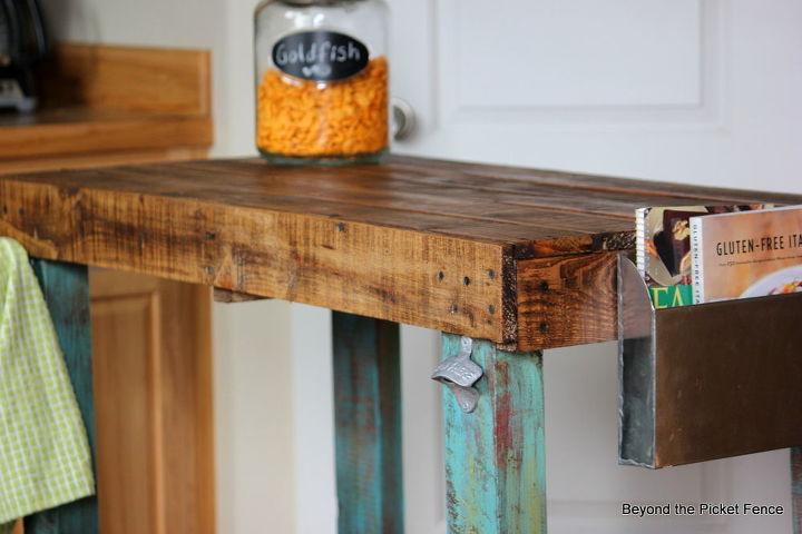 pallet island, diy, kitchen design, kitchen island, painted furniture, pallet, repurposing upcycling