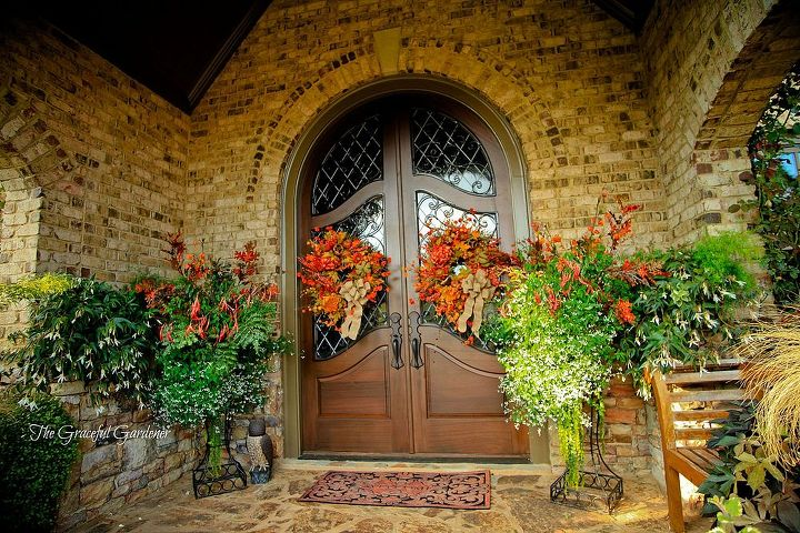 welcome autumn southern style, seasonal holiday d cor, wreaths