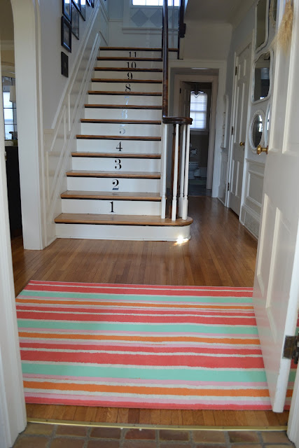 painted rug, flooring, painting