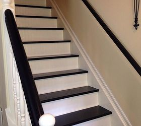 Interior Stairs Makeover, Stairs, Finished Steps