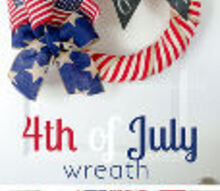 diy wednesday project make your own 4th of july wreath, crafts, seasonal holiday decor, wreaths
