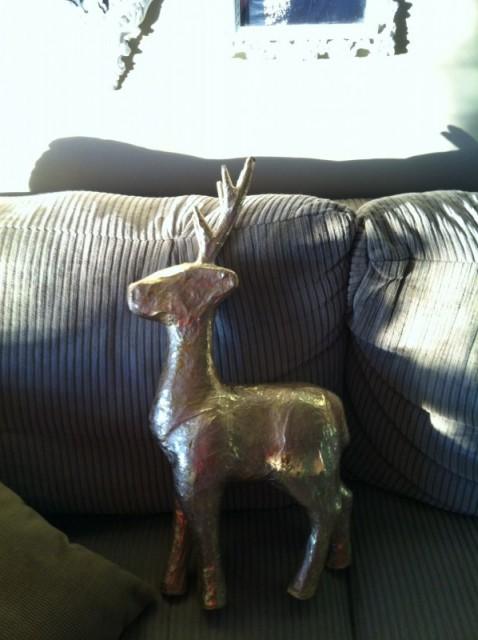 Deer before