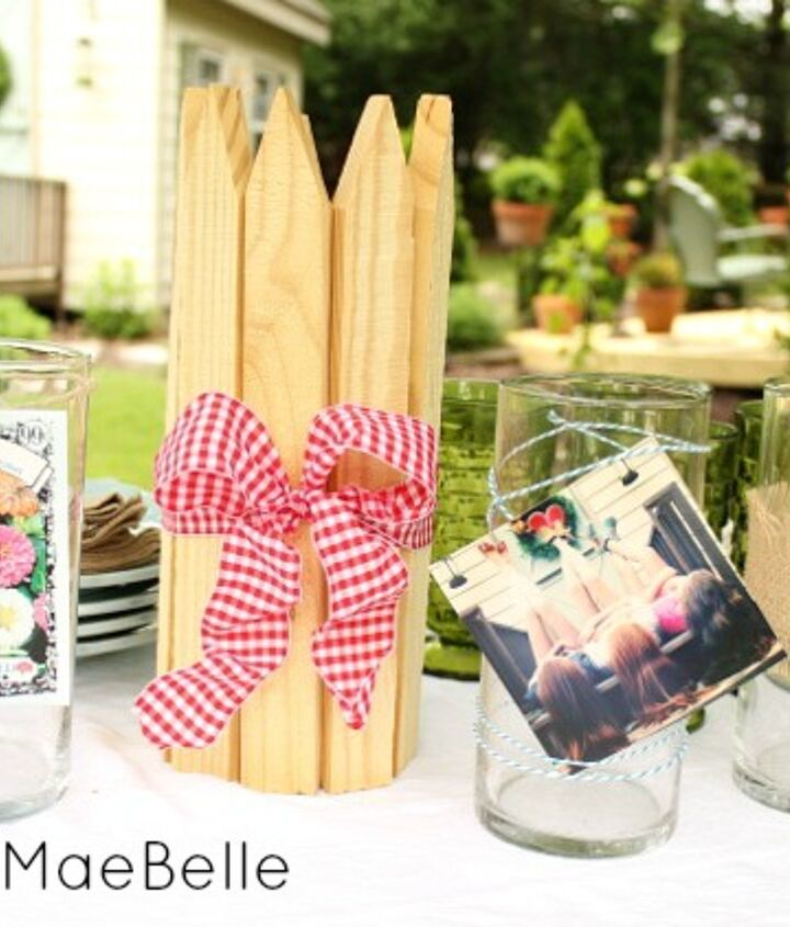 4 ways to decorate plain vases for parties!