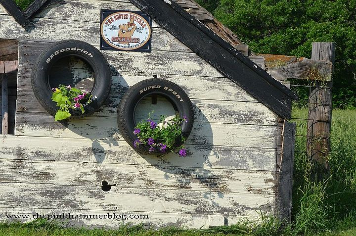 from old tires to upcycled tire planters diy trash to treasure, flowers, gardening, outdoor living, repurposing upcycling