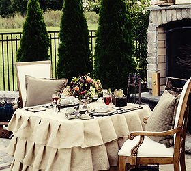 Ralph Lauren Inspired Outdoor Dinner For Two, Home Decor, Outdoor Living, Ralph  Lauren