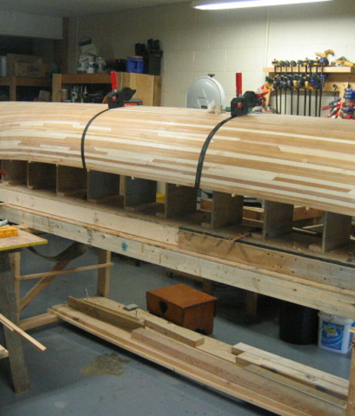 canoes i build, woodworking projects