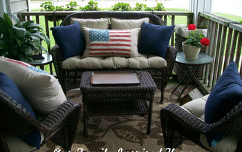 Front Porch ~ Red, White, and Blue