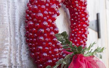 Everlasting Cranberry Wreath