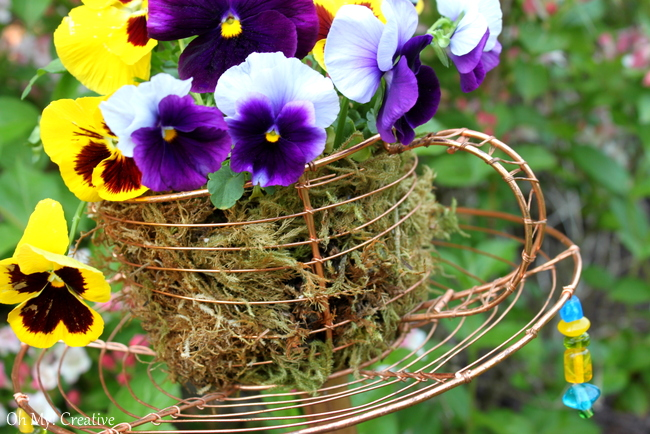 wire teacup garden stake, crafts, gardening, outdoor living, repurposing upcycling