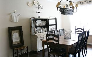 farmhouse style dining room before after, dining room ideas, home decor