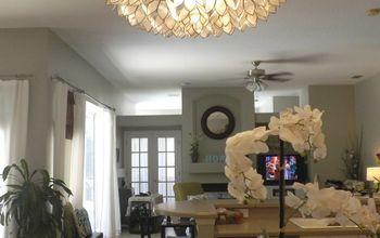 my one of a kind chandelier, kitchen design, lighting
