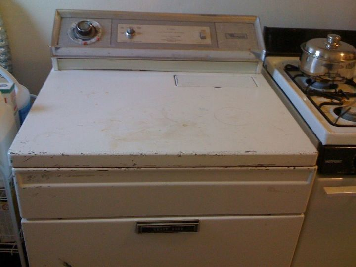 This is the dryer that suddenly stopped working.