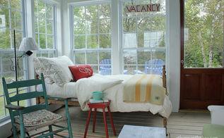 sleeping porch tour, home decor, porches