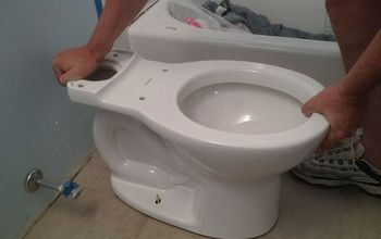 the easiest toilet you ll ever install, bathroom ideas, home maintenance repairs, Installing the Cadet 3 is easy because you only need one tool to do it