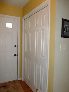 closet into mudroom, closet, laundry rooms, The closet before