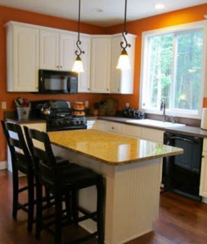 looking for ideas in how to redo kitchen cabinets that don t go all the way to the, cabinets