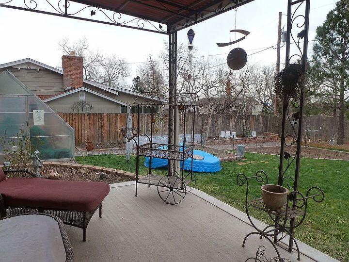 spring gardening in littleton colorado, gardening, kiddie pools come in handy