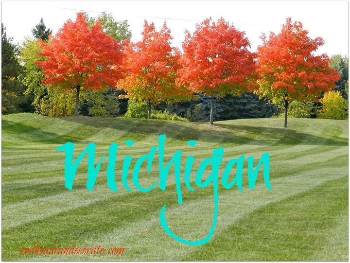midwestern autumn tour w a splash of halloween, halloween decorations, landscape, ponds water features, porches, seasonal holiday decor, A park not far from our house always has such beautiful Maples
