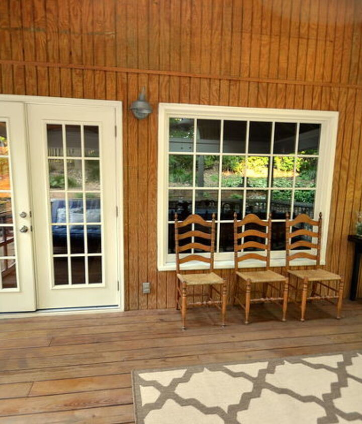 Screened-In Porch {view from chaise}