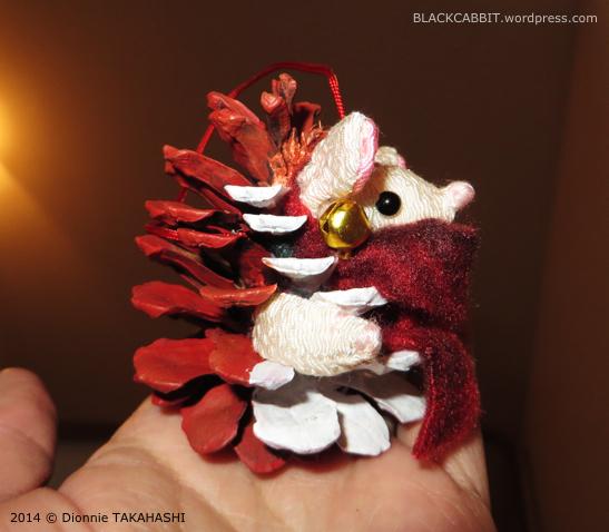 one diy christmas ornament a month 02 pinecone porcupine, christmas decorations, crafts, seasonal holiday decor