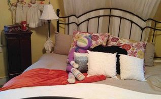 what should i do, painted furniture, Bed love my sock monkey I l like a romantic whimsical look