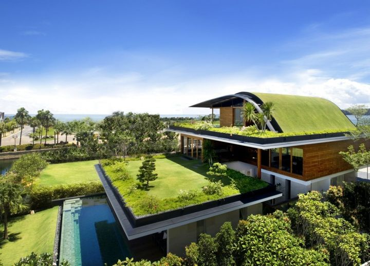meera house in singapore by guz architects, architecture, home decor, pool designs