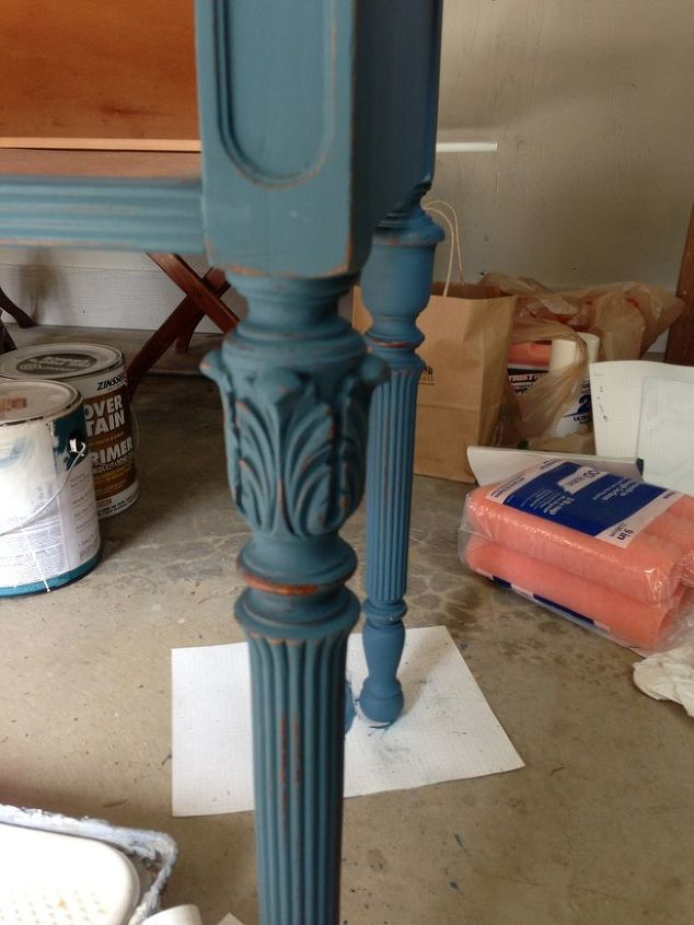 paint furniture whiteWhite Wax on Painted Furniture  Hometalk