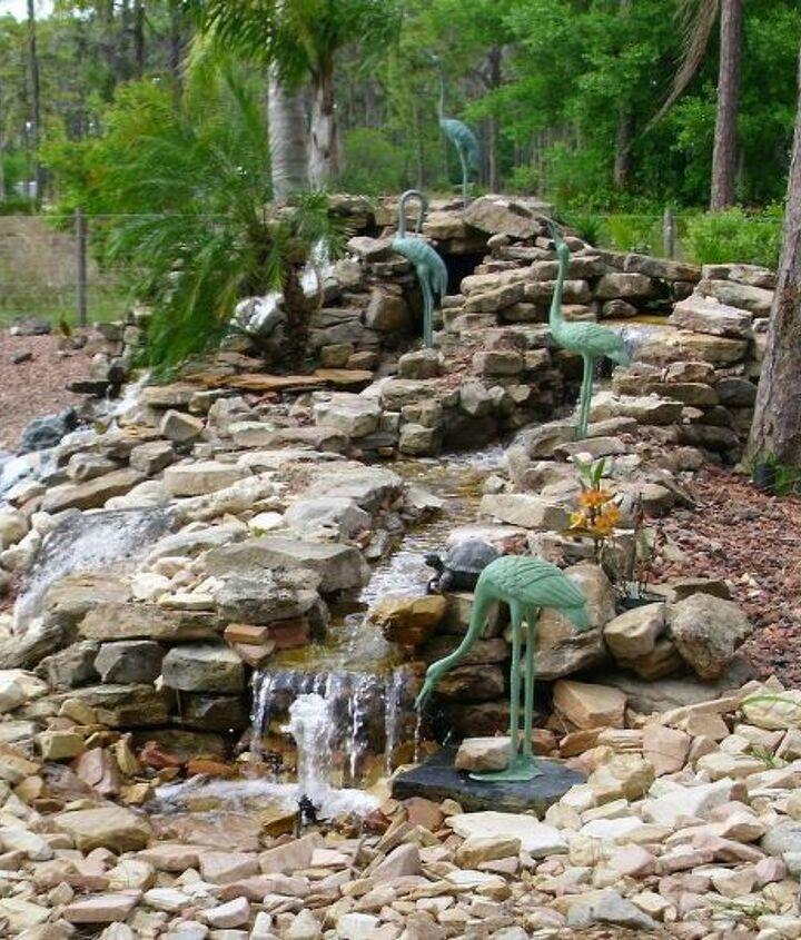 Waterfall, & pond-free stream