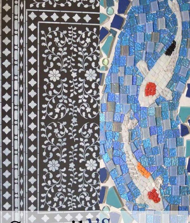 Stencil Vs Mosaic