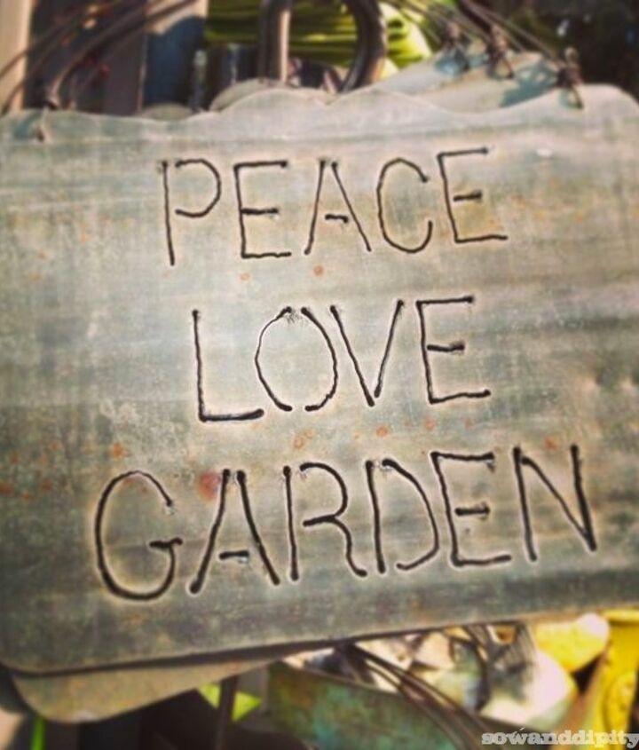 Peace, Love, Garden