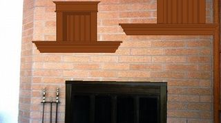 q help update my 70 s fireplace, fireplaces mantels, paint colors, painting, wall decor