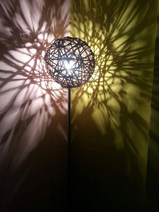 diy corner lamp, diy, lighting