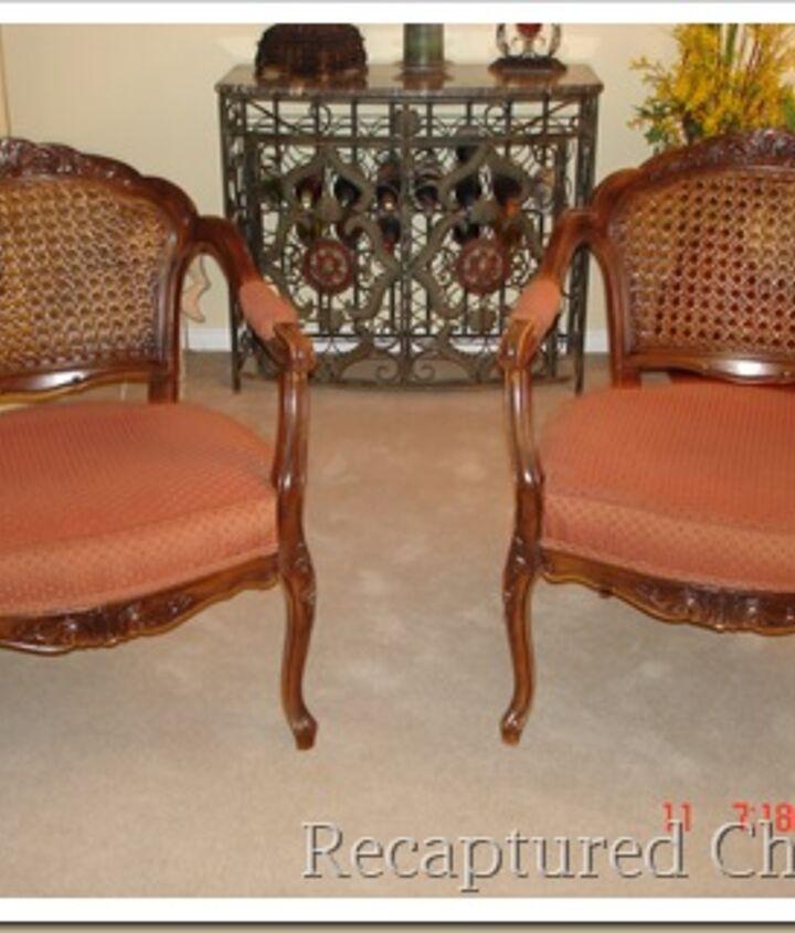 The chairs originally
