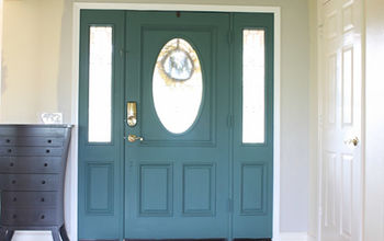 unique front door colors with chalk paint, chalk paint, doors, painting