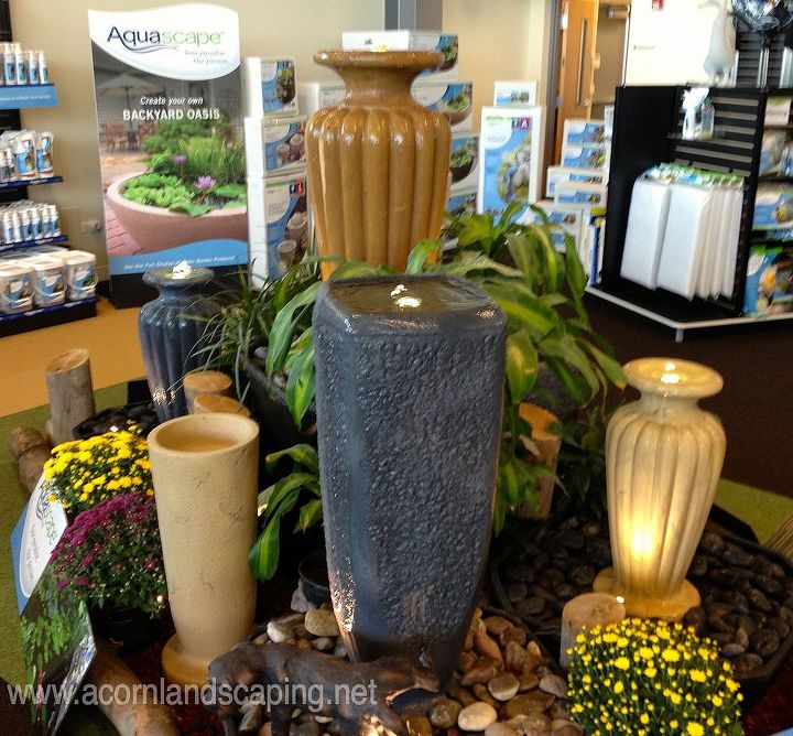 Fountains Ideas in Rochester NY by Acorn