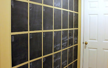 A Wall Sized Calendar for Managing Our Daily Chaos