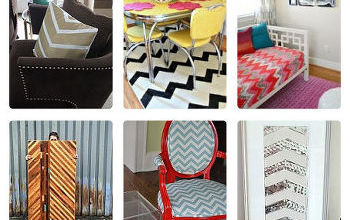18 charming chevron crafts, crafts, Get inspired with 18 fun ideas to bring a little chevron into your life