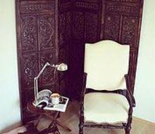 reading corner, home decor, painted furniture