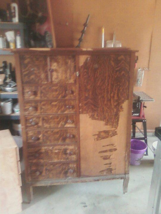 $15 Armoire Before...