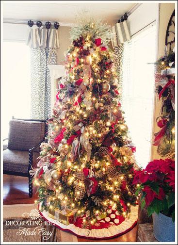 my home decorated for christmas, christmas decorations, seasonal holiday decor, My living room Christmas tree