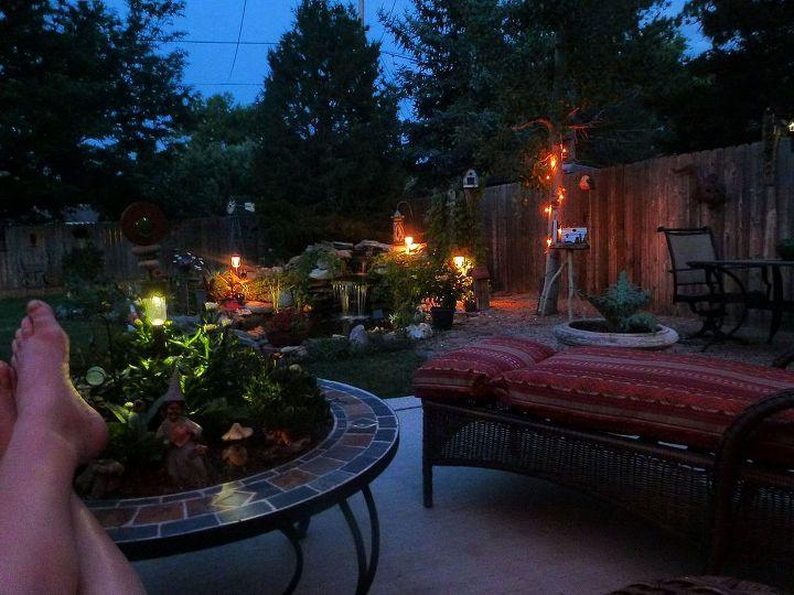 day night, gardening, outdoor living